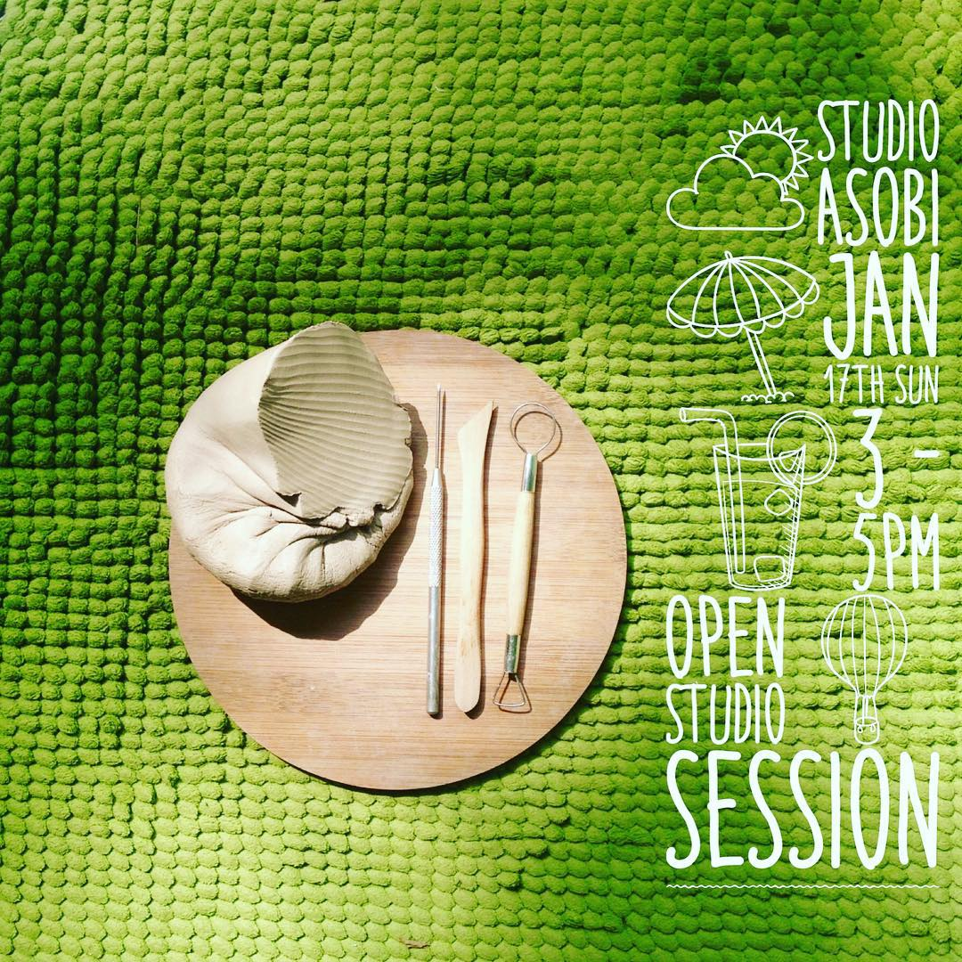 Hello to all past workshop participants! Hearing your desire to continue making more beautiful pottery, we are launching a new Open Studio session where you can return to make more artworks using the techniques learnt earlier:) If you have always wanted to learn pottery, we also have upcoming workshops!  More details on registration can be found here: http://studioasobi.com/beginning/clay-workshops/  #sgworkshops #pottery #clay #workshop by #ceramic #artists #studioasobi #madeinsg #handmade #craftsmanship #singapore